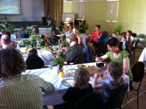 The Local Table Season #1 Launch & Potluck at St Peter's Hall, Paekakariki